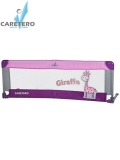 Mantinel do postýlky CARETERO Giraffe purple