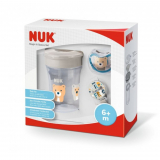 Set NUK Magic Cup Space béžový 230 ml