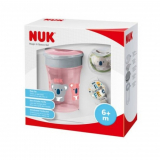 Set NUK Magic Cup Space růžový 230 ml