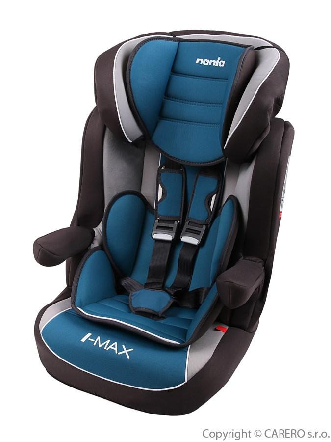 Autosedačka Nania I-Max Isofix Luxe Agore Petrole 2016 Autosedačka NANIA Isofix pro 9-36 kg