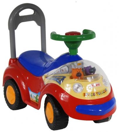 Odrážedlo ARTI GARBUS 2108BY Standard red Odrážecí auto pro děti