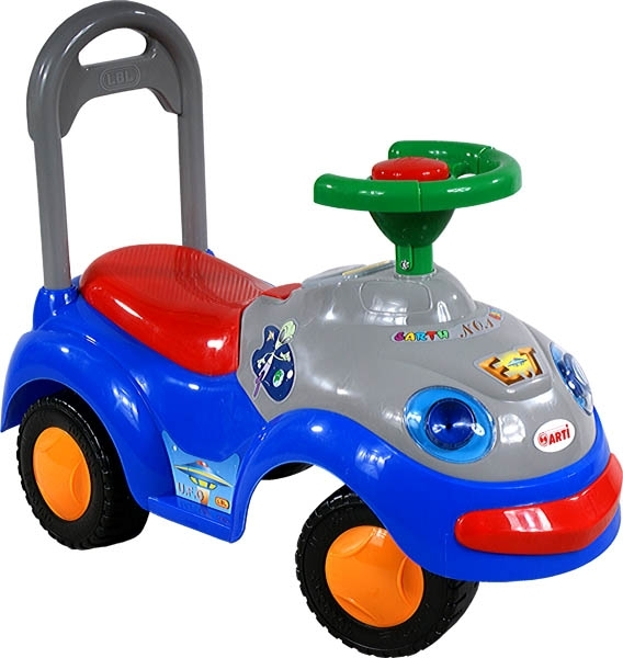 Odrážedlo ARTI GARBUS 2109MY blue dark Odrážecí auto pro děti