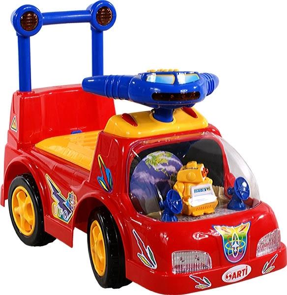 Odrážedlo ARTI Space Star red Odrážecí auto pro děti