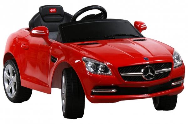 Elektrické auto RASTAR Mercedes SLK red Elektrické auto pro 1 dítě s dálkovým ovládáním