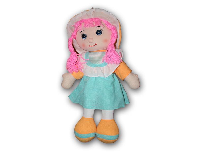 Hadrová panenka holčička 41 cm
