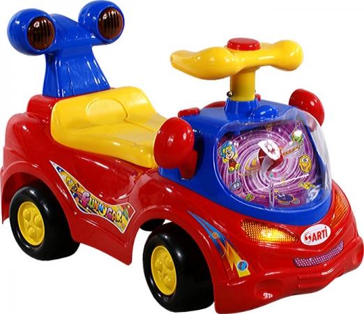 Odrážedlo ARTI 361 Funny Car red Odrážecí auto pro děti