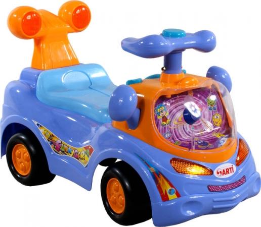 Odrážedlo ARTI 361 Funny Car blue Odrážecí auto pro děti