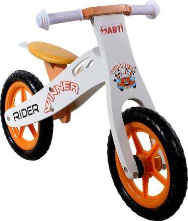Odrážedlo kolo ARTI Rider Winner Orange Odrážedlo kolo dřevěné