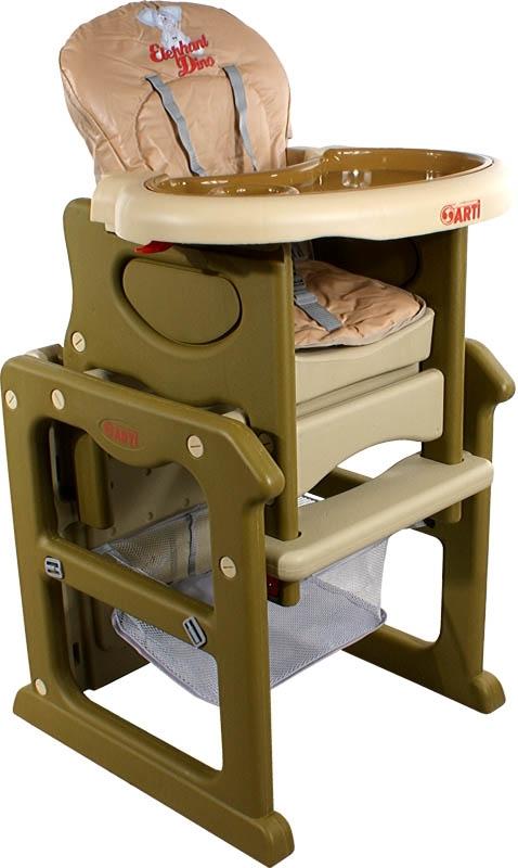 Židlička jídelní PAULI Sloník Dino Rozkládací jídelní židlička 2 v 1
