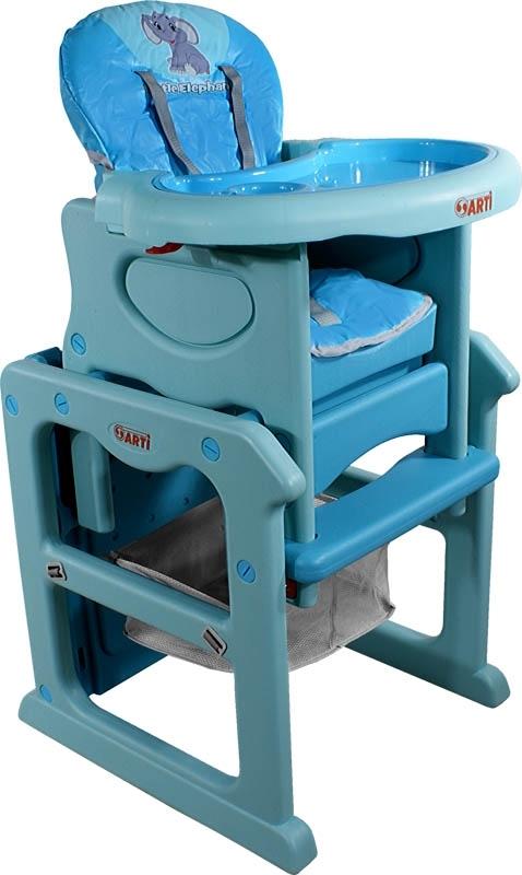 Židlička jídelní PAULI Sloník light Rozkládací jídelní židlička 2 v 1