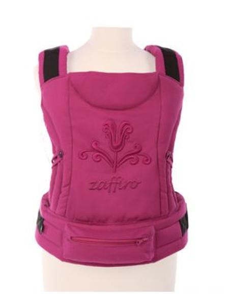 Dětské nosítko Womar Zaffiro ECO pink Klokánka pro děti od 3 do 36 měsíců