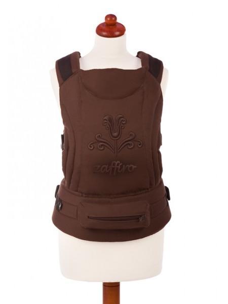 Dětské nosítko Womar Zaffiro ECO brown Klokánka pro děti od 3 do 36 měsíců