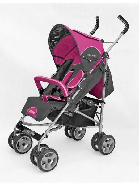 Kočárek sportovní VENUS New pink Dětský golfový kočárek Milly Mally