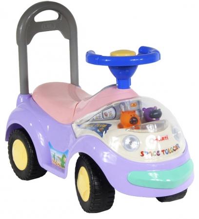 Odrážedlo ARTI GARBUS 2108MY Musical pink Odrážecí auto pro děti