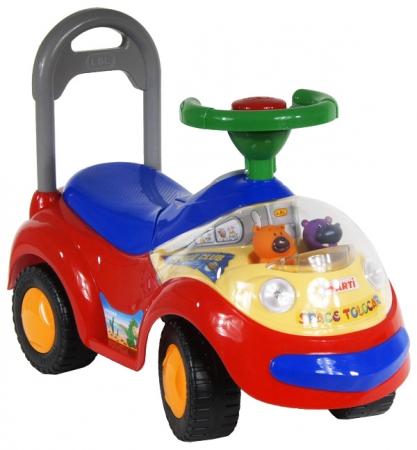 Odrážedlo ARTI GARBUS 2108MY Musical red Odrážecí auto pro děti
