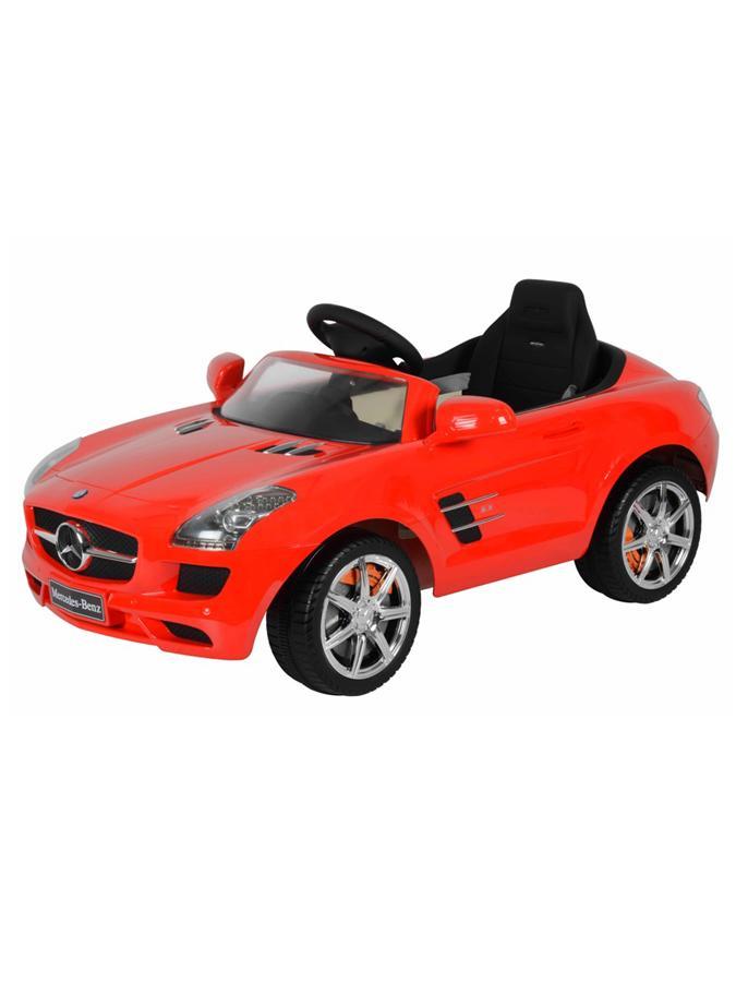 Elektrické auto Baby Mix Mercedes-Benz red Elektrické autíčko pro 1 dítě s dálkovým ovládáním