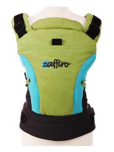 Dětské nosítko Zaffiro ECO Design green Klokánka pro děti od 3 do 36 měsíců