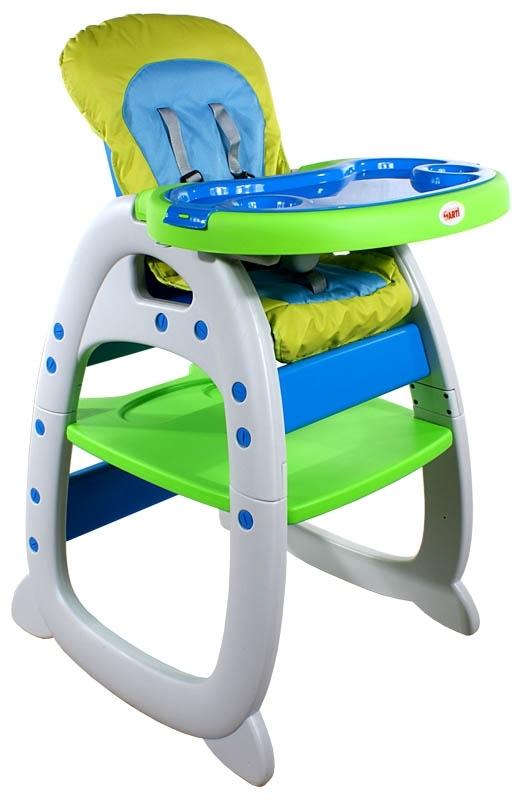 Dětská jídelní židlička New Style green Jídelní židlička rozkládací Arti