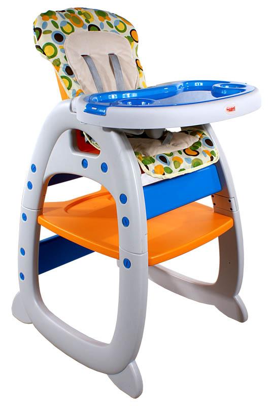 Dětská jídelní židlička New Style orange Jídelní židlička rozkládací Arti