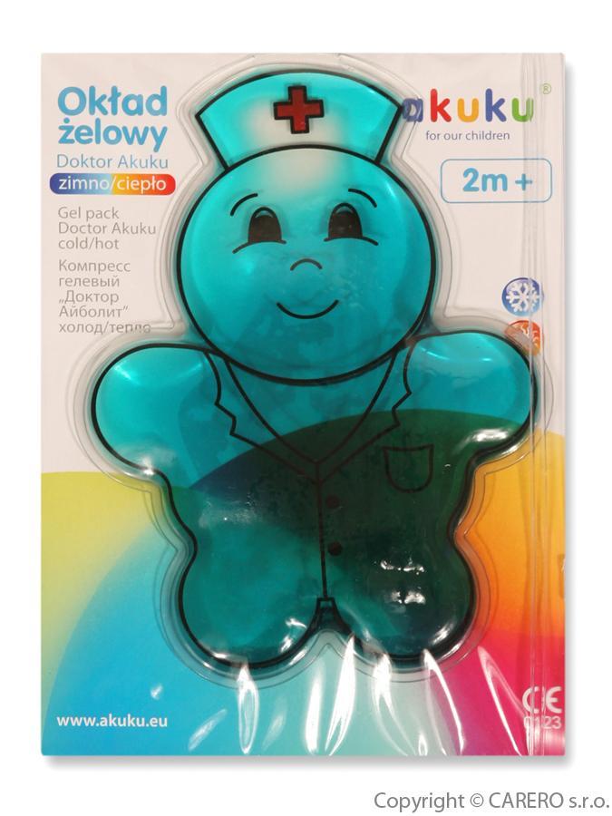 Gelový polštářek Akuku Gelový polštářek chladící/hřejivý