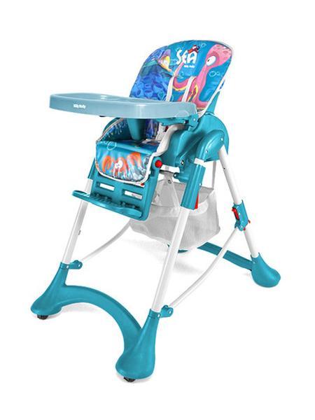 Jídelní židlička ACTIVE 2014 Sea Skládací jídelní židlička Milly Mally