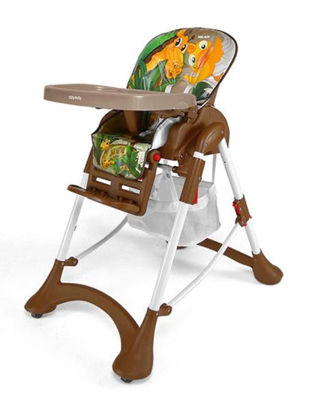 Jídelní židlička ACTIVE 2014 Jungle Skládací jídelní židlička Milly Mally