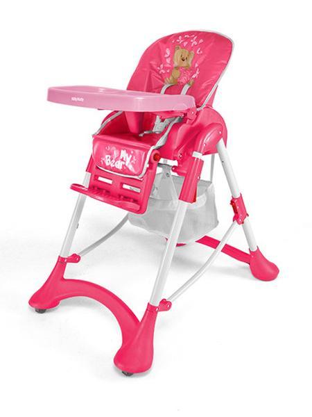 Jídelní židlička ACTIVE 2014 Bear Skládací jídelní židlička Milly Mally