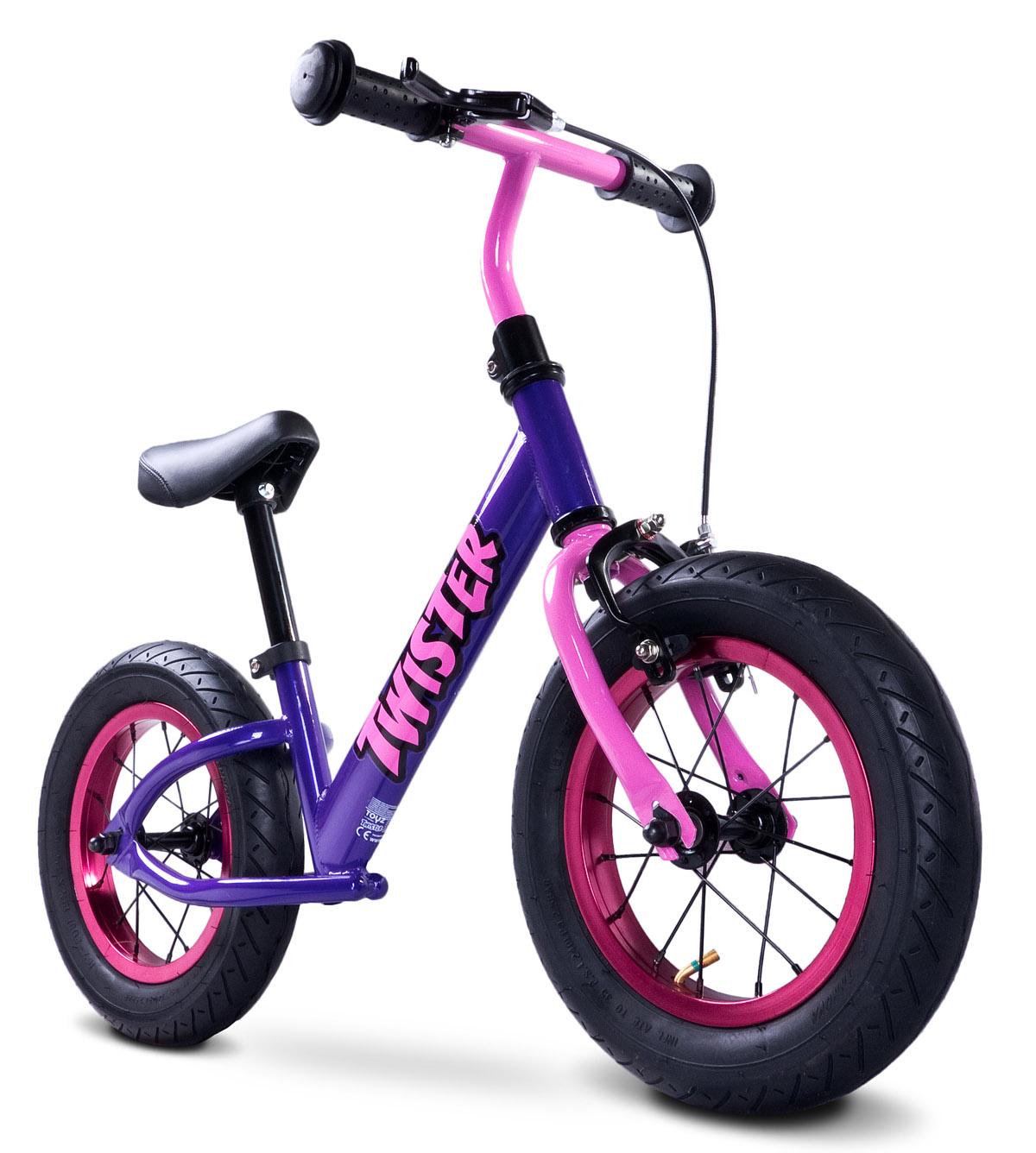 Odrážecí kolo Toyz Twister purple Dětské odrážedlo kolo Toyz