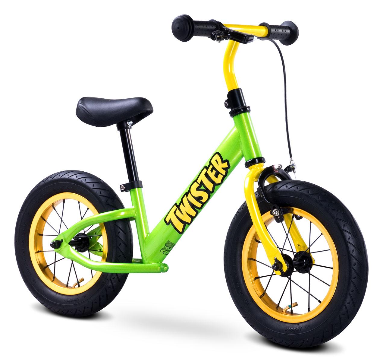 Odrážecí kolo Toyz Twister green Dětské odrážedlo kolo Toyz