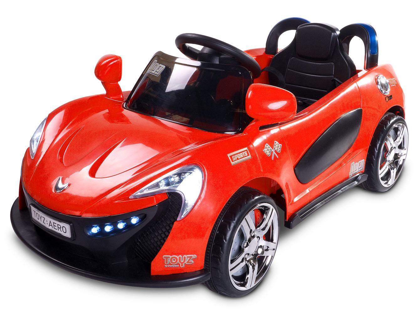 Dětské auto TOYZ Aero red na baterii Elektrické autíčko pro děti Toyz
