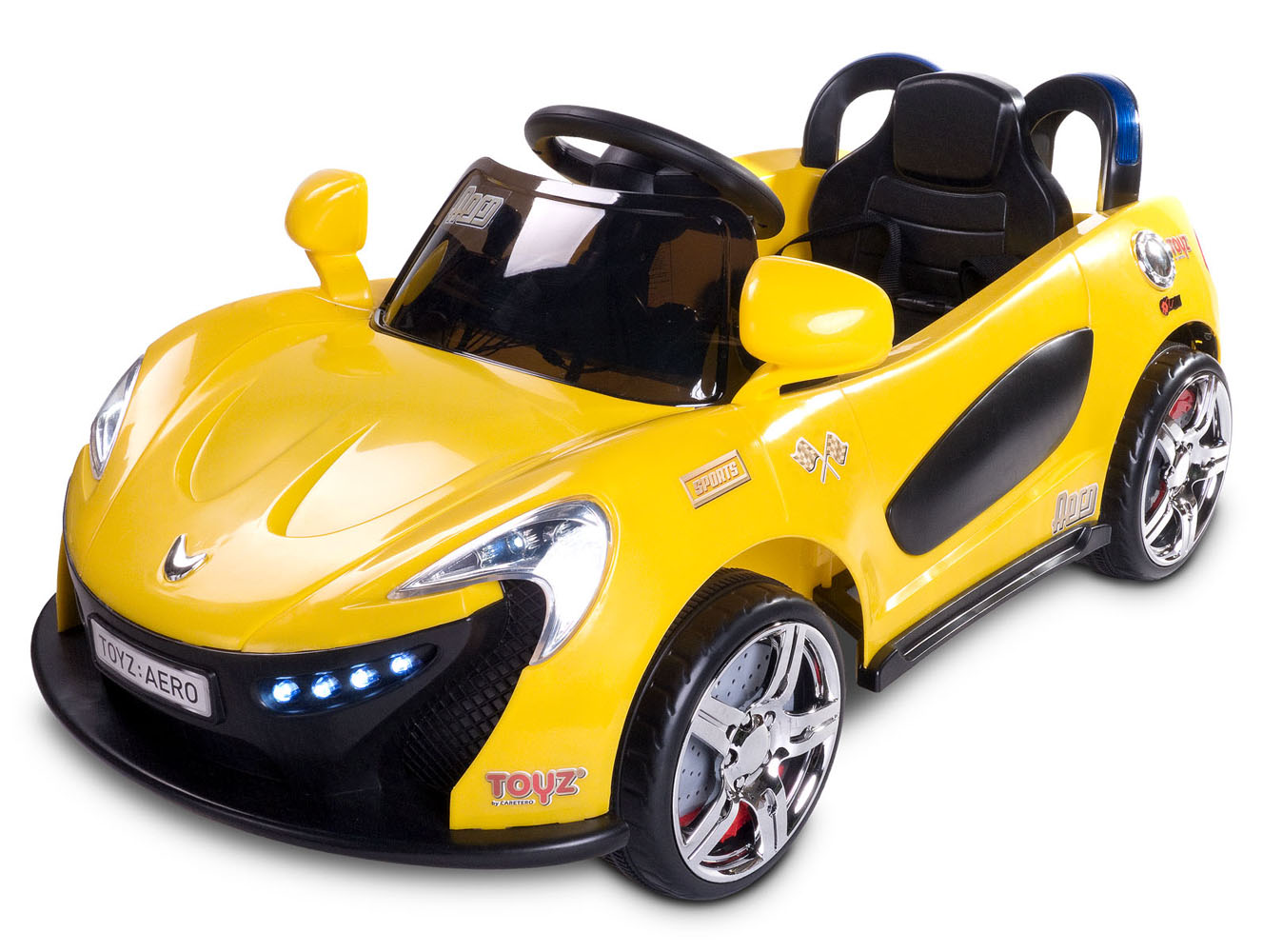 Dětské auto TOYZ Aero yellow na baterii Elektrické autíčko pro děti Toyz