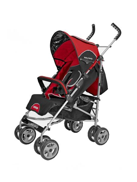 Kočárek sportovní VENUS New red Dětský golfový kočárek Milly Mally