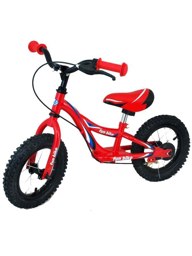 Odrážecí kolo Baby Mix Fun bike red Odrážedlo kolo Baby Mix