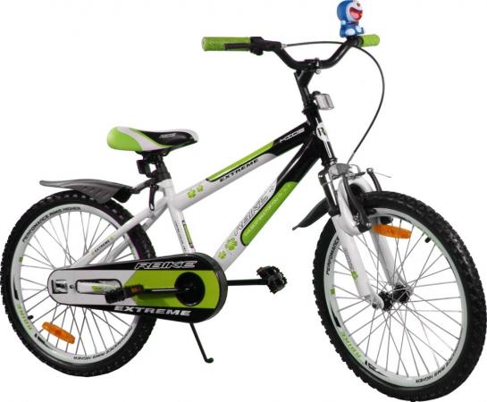 """Dětské kolo 20"""" BMX RBike 4-20 green Dětské jízdní kolo ARTI"""