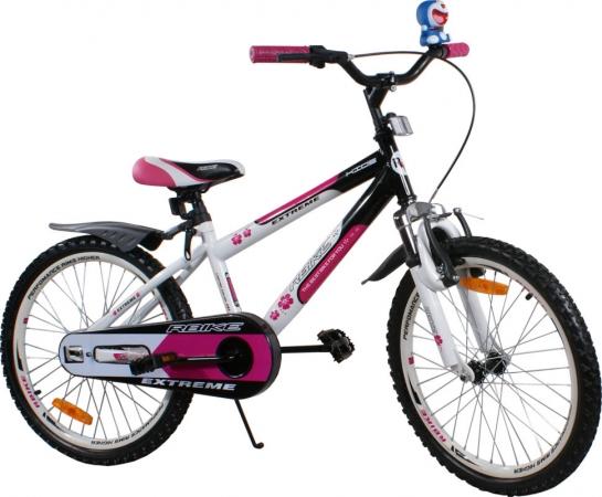 """Dětské kolo 20"""" BMX RBike 4-20 purple Dětské jízdní kolo ARTI"""