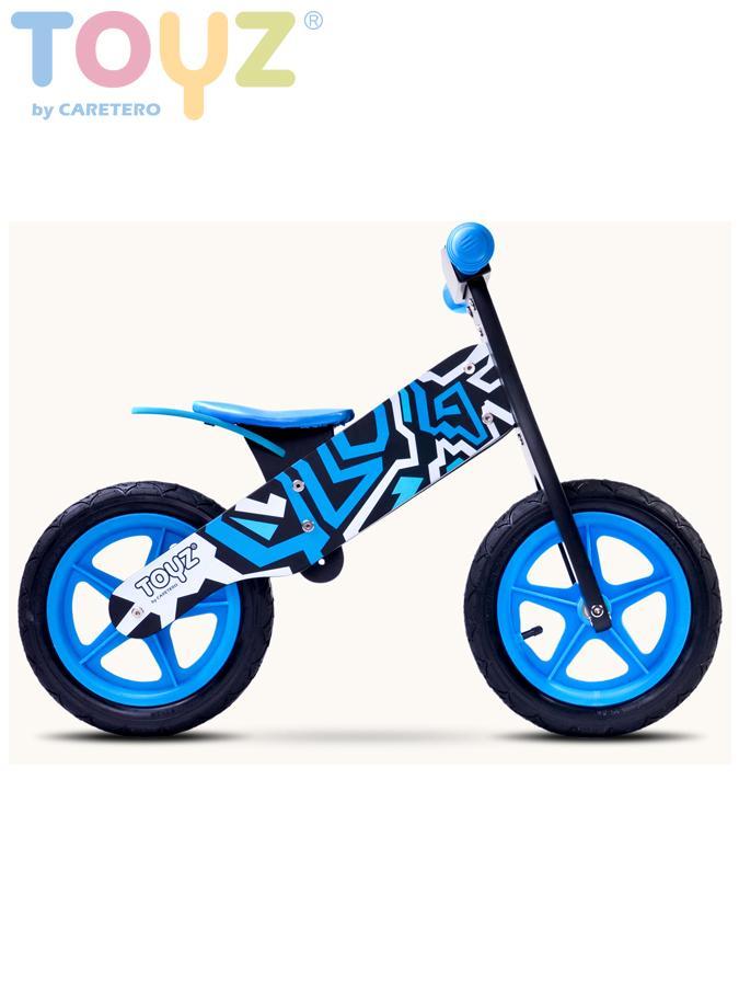 Odrážecí kolo dřevěné Toyz ZAP blue Dětské odrážedlo kolo Toyz