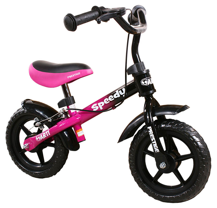 Odrážedlo kolo ARTI Speedy M Luxe new pink-black Dětské odrážecí kolo Arti Speedy M