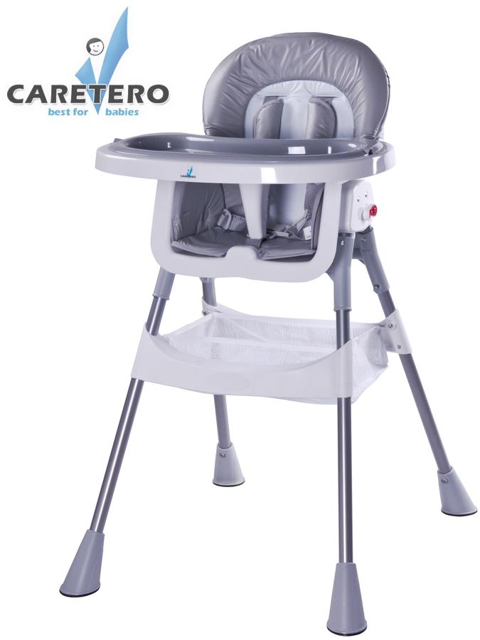 Jídelní židlička POP grey Skládací jídelní židlička Caretero