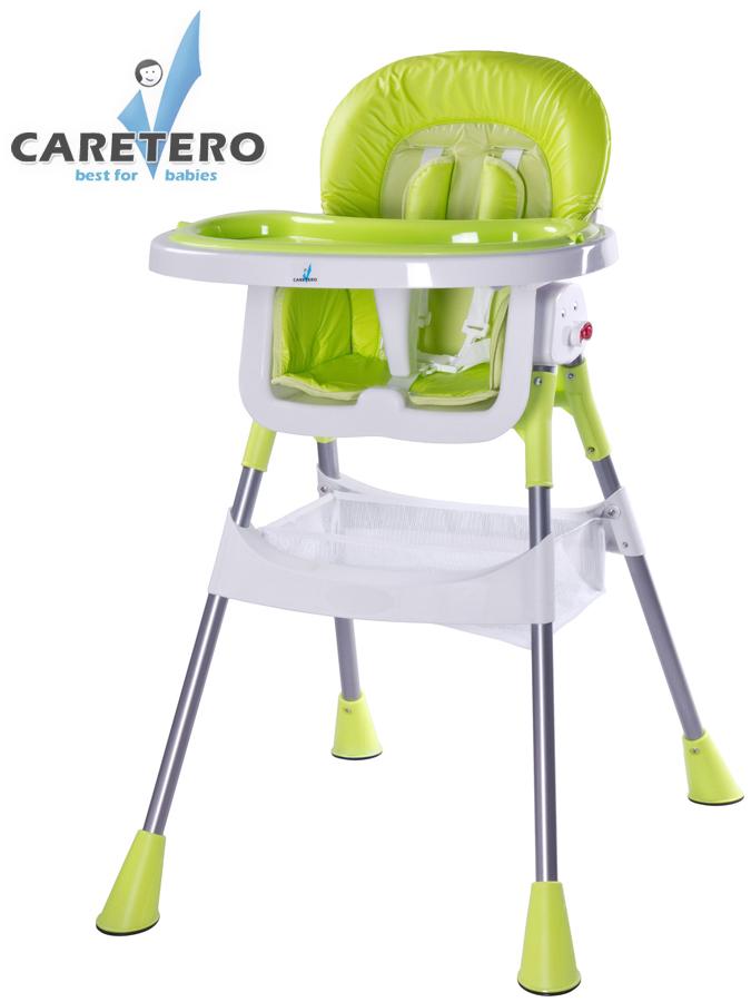 Jídelní židlička POP green Skládací jídelní židlička Caretero