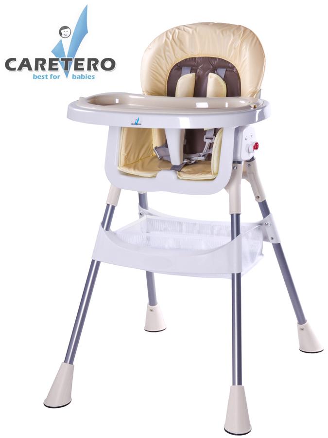 Jídelní židlička POP cappuccino Skládací jídelní židlička Caretero