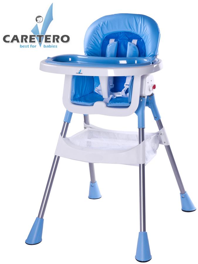 Jídelní židlička POP blue Skládací jídelní židlička Caretero
