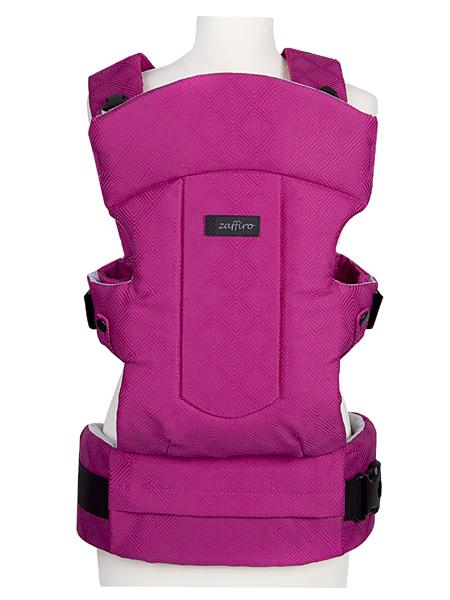 Dětské nosítko Womar Zaffiro Diamond pink Klokánka pro děti Womar Zaffiro