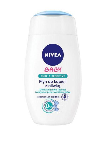 Olejová pěna do koupele Nivea Baby