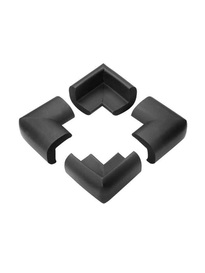 Ochrany rohů 4 ks černé Ochrany rohů stolů a skříněk