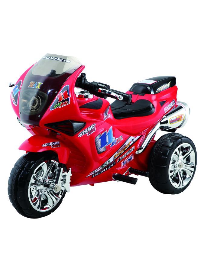 Dětská elektrická motorka Baby Mix červená Dětská elektrická sportovní motorka