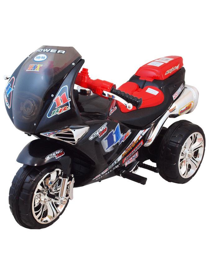 Dětská elektrická motorka Baby Mix černá Dětská elektrická sportovní motorka