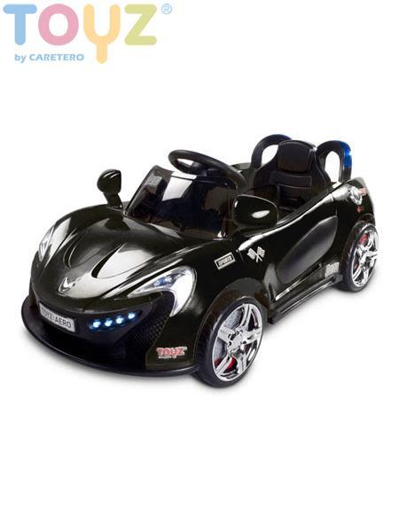 Dětské auto TOYZ Aero black na baterii Elektrické autíčko pro děti Toyz
