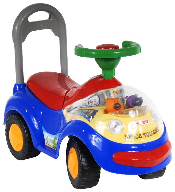 Odrážedlo ARTI GARBUS 2108BY Standard blue Odrážecí auto pro děti