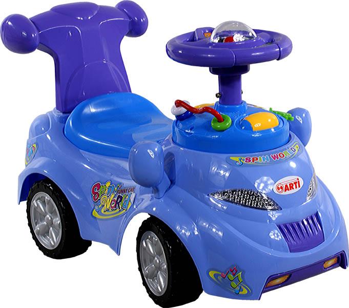 Odrážedlo auto ARTI 378 Spin World blue Odrážecí auto Arti pro děti