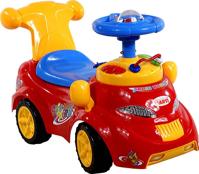 Odrážedlo auto ARTI 378 Spin World red Odrážecí auto Arti pro děti